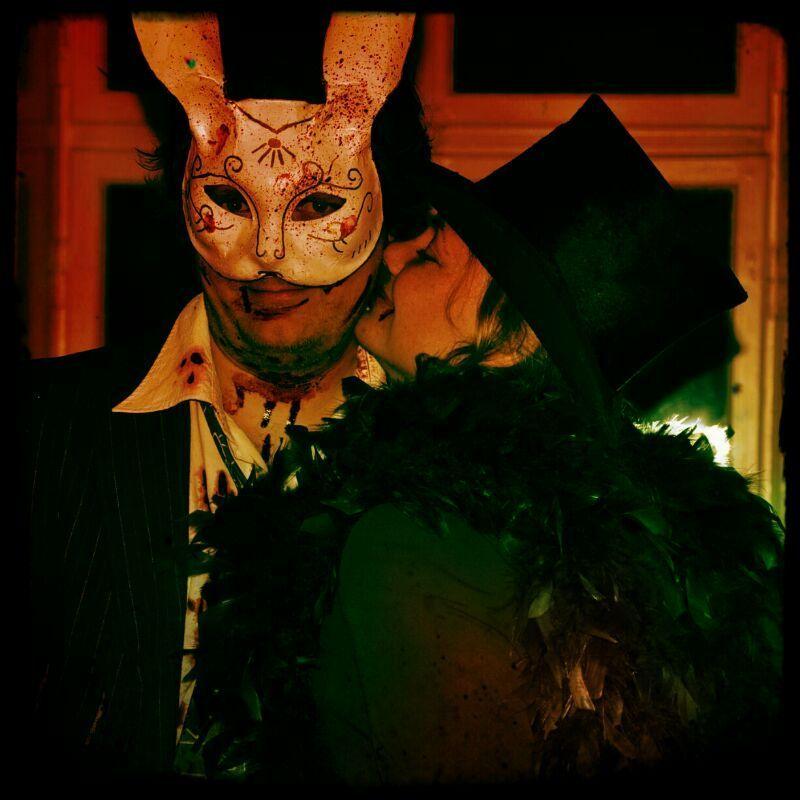 Bunny mask photo